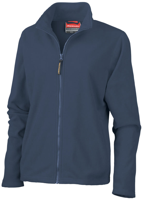 Womens Horizon High Grade Microfleece Jacket Womens Fleeces Result Navy XS