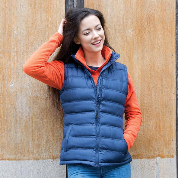 Womens Ice Bird Padded Gilet Womens Bodywarmers Result Urban