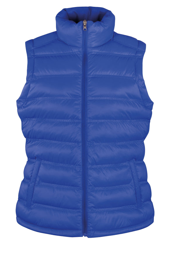 Womens Ice Bird Padded Gilet Womens Bodywarmers Result Urban Royal XS