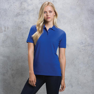 Womens Klassic Polo with Superwash 60å¡C Womens Polos Kustom Kit