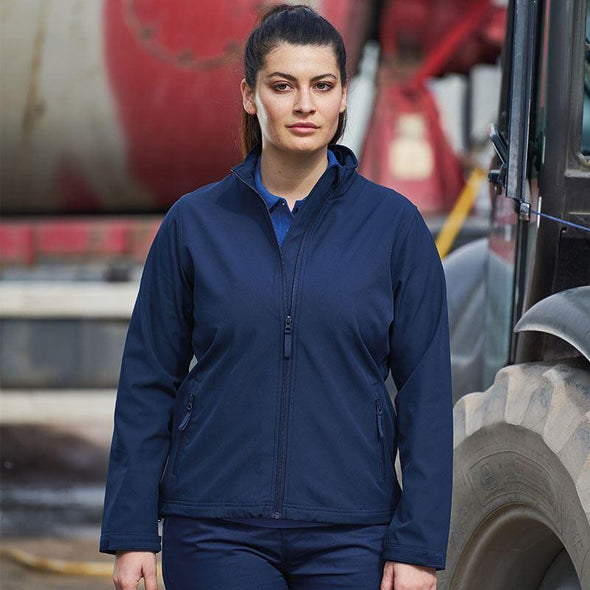 Womens Pro 2-Layer Softshell Workwear ProRTX Navy XS
