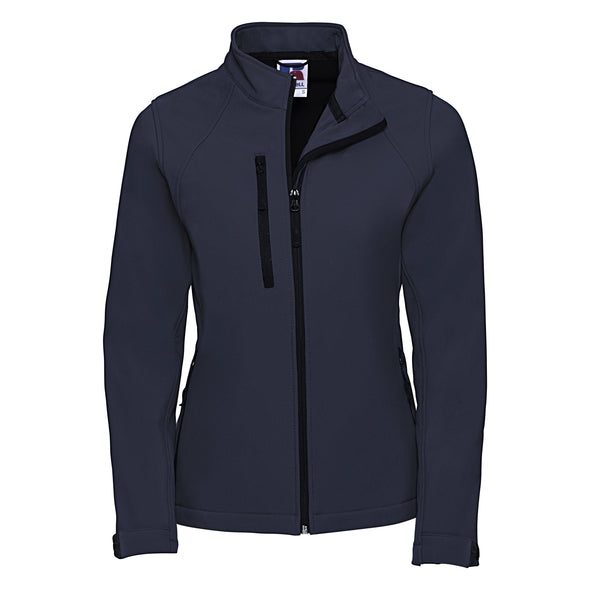 Womens Softshell Jacket Womens Softshell Jackets Russell French Navy XS
