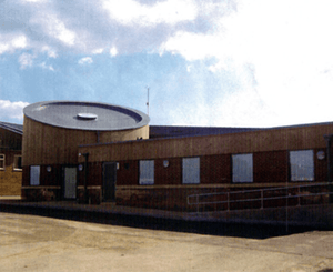 Roller Barrier Protects Flat Rooftops at Wymondham Library, Norfolk