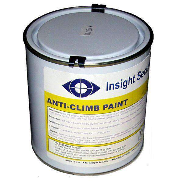 5.0 Litre – White Anti Climb Paint (Anti Intruder Paint) | Roller Barrier