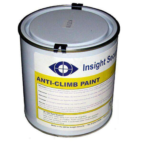 5.0 Litre – Black Anti Climb Paint (Anti Intruder Paint) | Roller Barrier