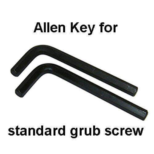 6mm Long Shaft Allen Key for Standard Grub Screw – pack of 2 | Roller Barrier