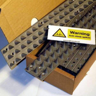 Anti Climb Spikes – Prikla45 (10 pack + Free Warning Sign) | Roller Barrier