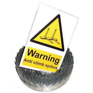 Razor Ribbon – 9 metre roll (includes 1x Hi Viz Warning Sign) | Roller Barrier