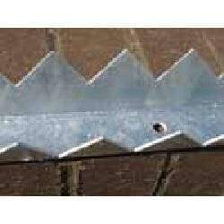 Razor Channel U Profile – anti-climb security spikes – 1.8 metre length – galvanised finish | Roller Barrier