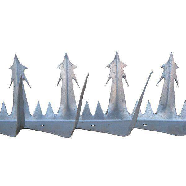 Razor Point – Anti Climb Spikes – 1.2 metre length – galvanised finish | Roller Barrier