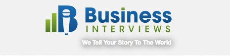 Chris and Boosa Featured on BusinessInterviews.com