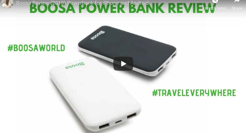 Video Review of Boosa - The Lamborghini of Power Banks