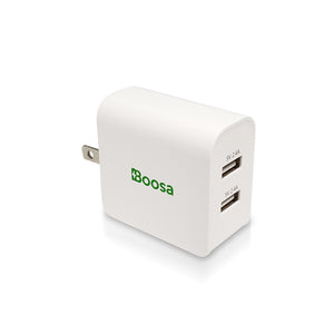 Boosa Plugsey 2-Port 24W USB Wall Charger