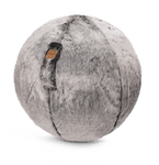 SITTING BALL SKINS snow lynx - Happy Places Furniture