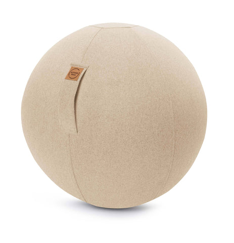 SITTING BALL FELT beige - Happy Places Furniture