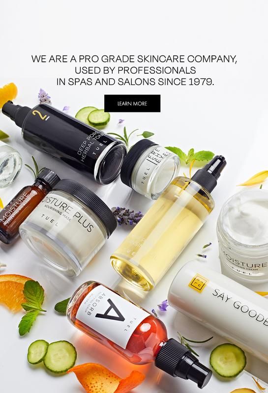 We are a pro grade skincare company, used by professionals in spa and salons since 1979.