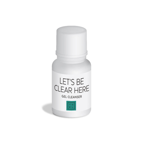 Sample Let's Be Clear Here Gel Cleanser
