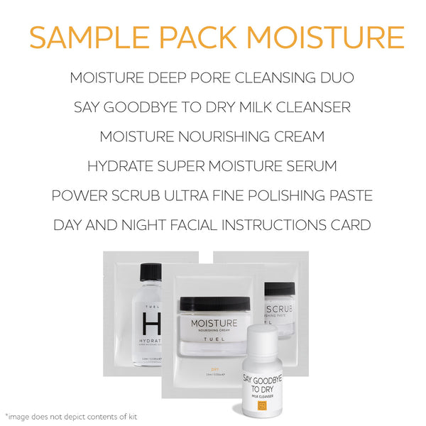 Sample Pack Moisture