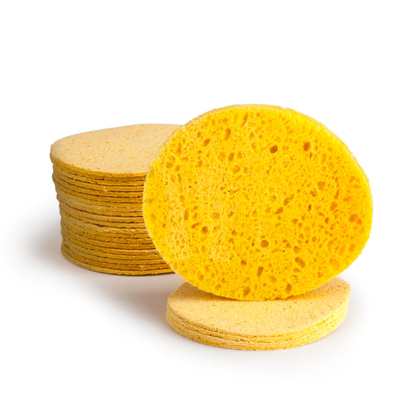 Cellulose Facial Sponges