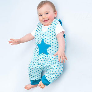 Baby overall dungaree ALBERTO Paper pattern