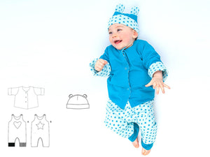 Baby sewing pattern bundle ALBERTO FLAVIO ORSO Paper Pattern