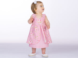 Baby dress sewing pattern ROSA Paper pattern