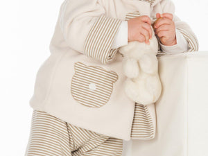 Girl Baby girls + boys duffle coat and pants sewing pattern pdf bundle. Hooded jacket and lined toddler pants BRIO + LUCCA by Patternforkids