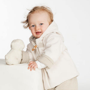 Baby duffle coat and pants sewing pattern BRIO + LUCCA Paper pattern