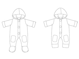 Baby Overall Jumpsuit pattern DORIAN Ebook pdf