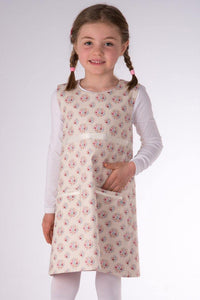 Baby girls reversible dress sewing pattern ebook pdf ELENA