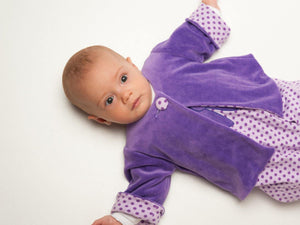 Baby outfit patterns for jacket, overall and beanie Ebook PDF