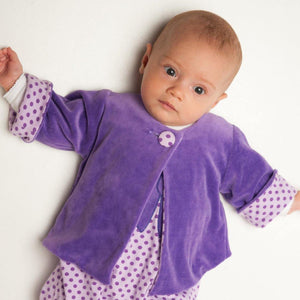 Baby girl jacket sewing pattern ebook pdf FILIPPA