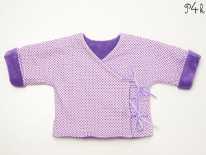 Baby jacket sewing pattern ebook pdf FIORINO