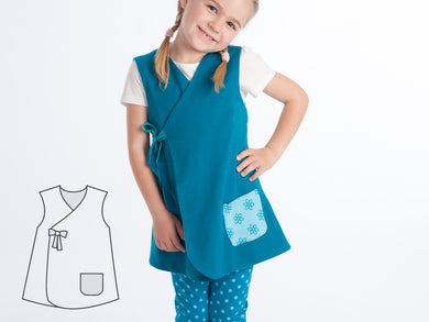 Girls dress sewing pattern ebook pdf Marie