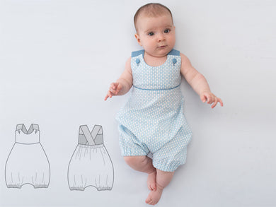 Baby dungaree sewing pattern ebook pdf PHIL
