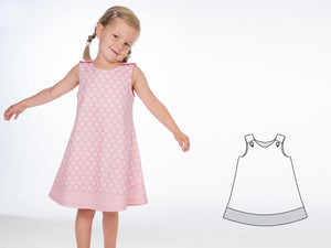 Baby girls dress sewing pattern ebook pdf STEFFI + SIENA