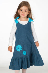 Baby girls dress sewing pattern ebook pdf SIENA