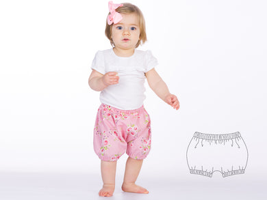 Baby diaper cover sewing pattern ebook pdf STELLA