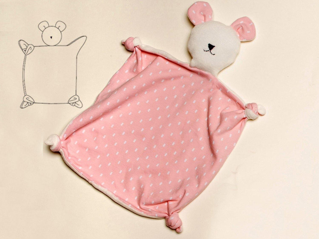 Cuddly toy and tooth cloth sewing pattern ebook pdf TEDDY