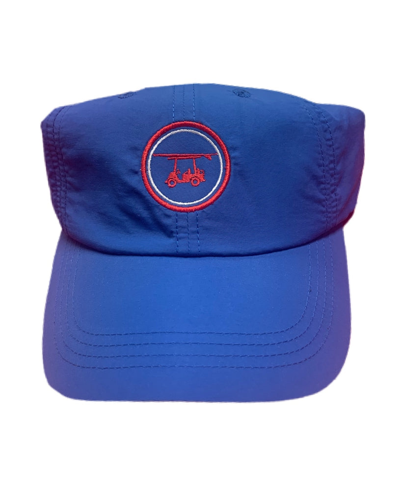 Bald Head Blues Hat Navy and Red