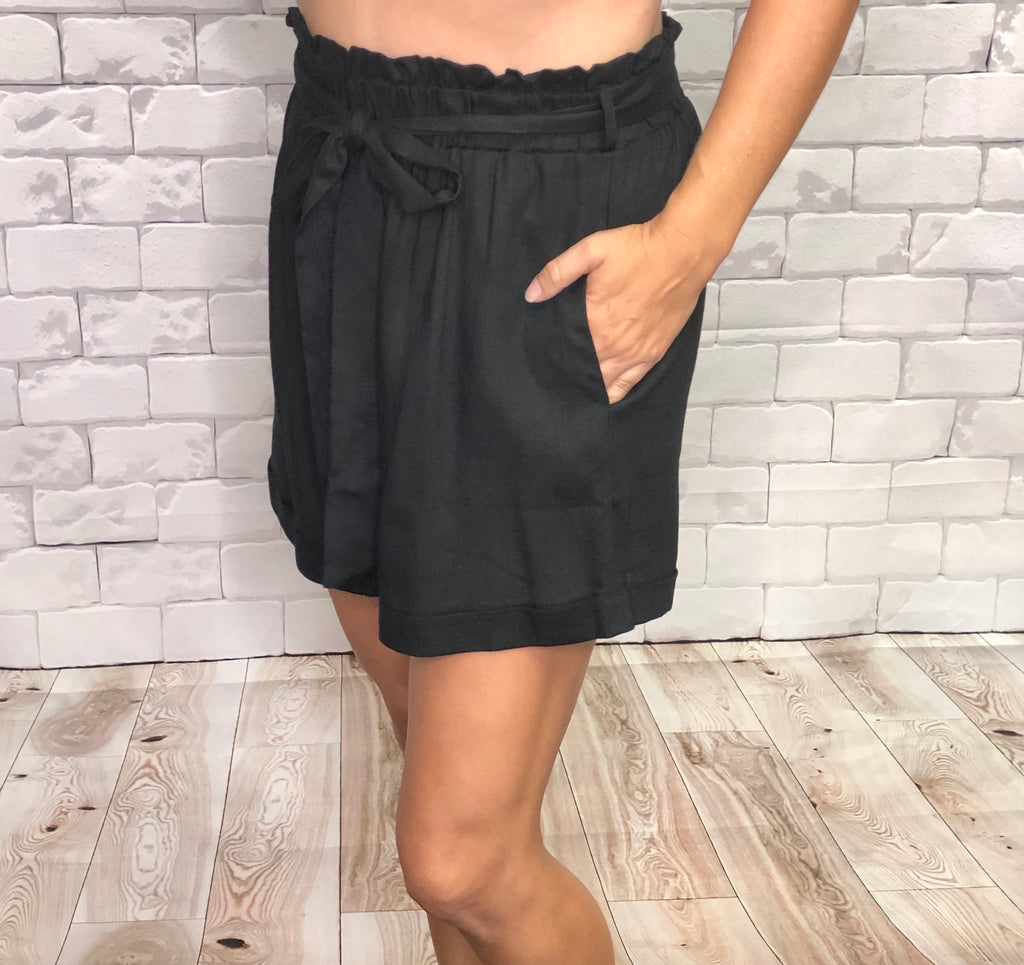 Fun and Flirty Linen Shorts