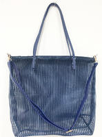 Mesh Handbag - Dark Blue