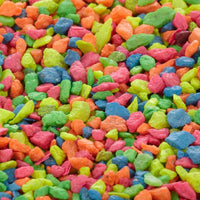 Leech Rainbow Gravel for Leech Aquarium
