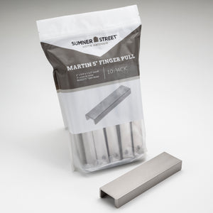"10-Pack Martin 5"" Finger Pull <span class=""ittyb"">(available in additional finishes)</span>"
