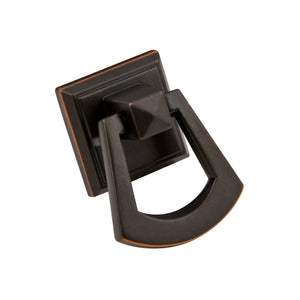 "Pyramid Square Ring Pull <span class=""ittyb"">(additional finishes available)</span>"