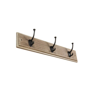 "Rustic Coat Hook Rail <span class=""ittyb"">(available in 24"" and 30"" plus additional finishes)</span>"