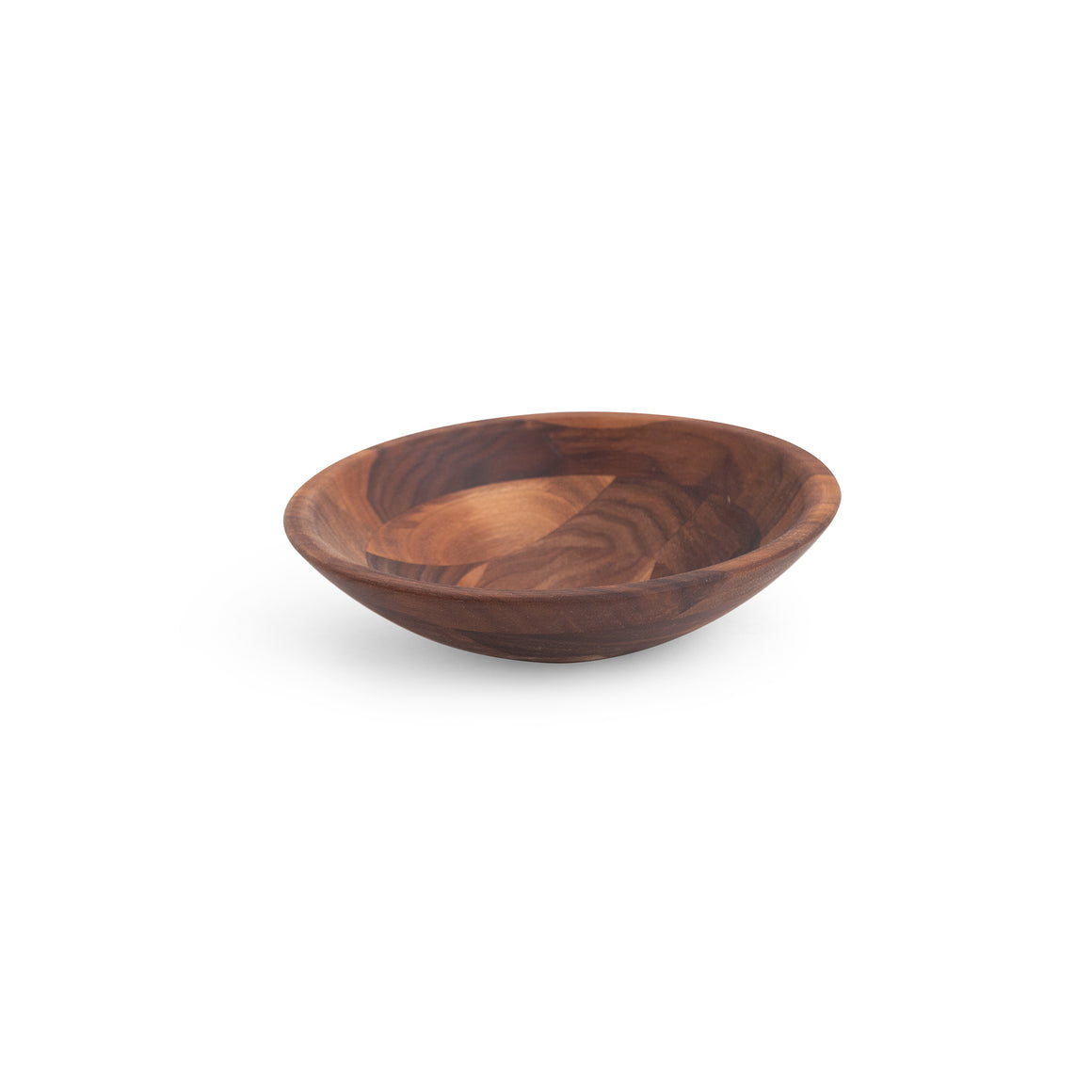 "Walnut 9"" Salad Serving Bowl"