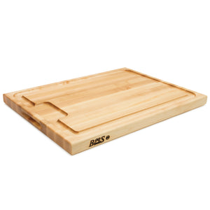Maple AuJus Cutting Board with Sloped Juice Groove (Professional Collection)