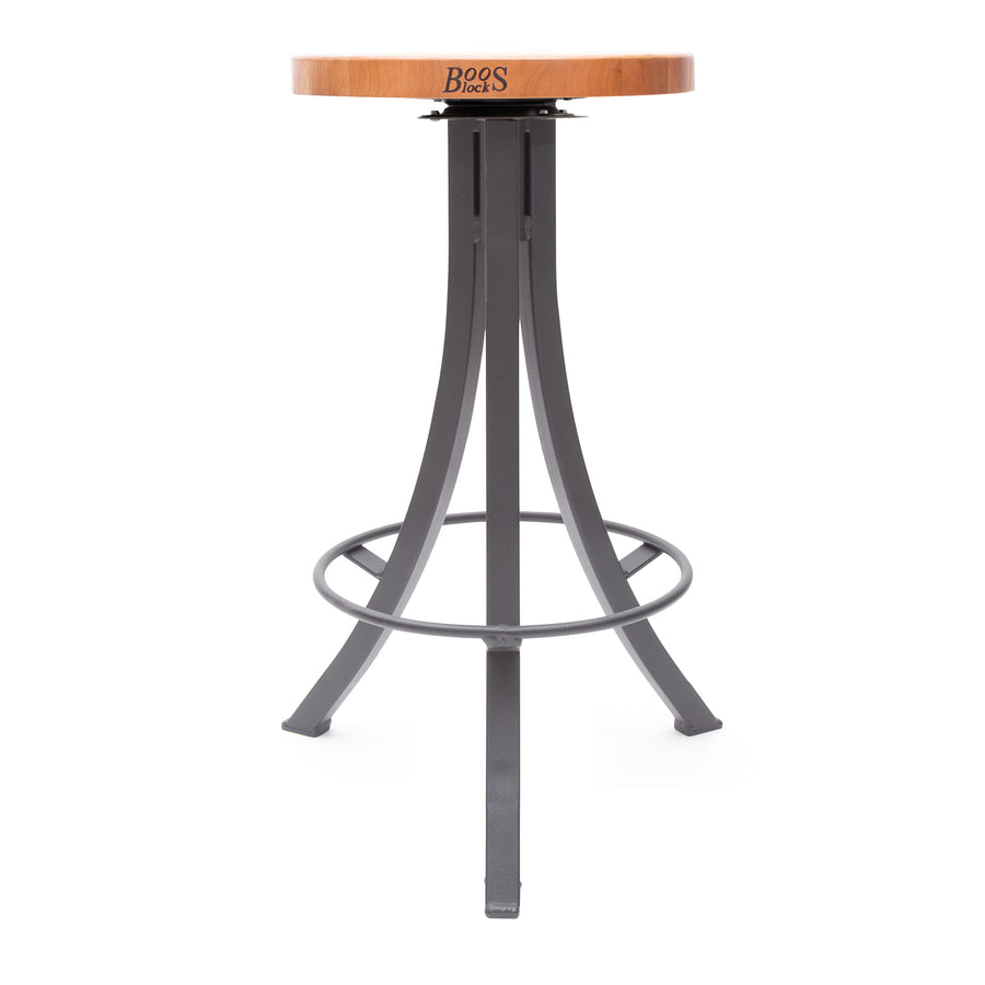 Foundry Collection American Cherry Bistro Stool with Swivel