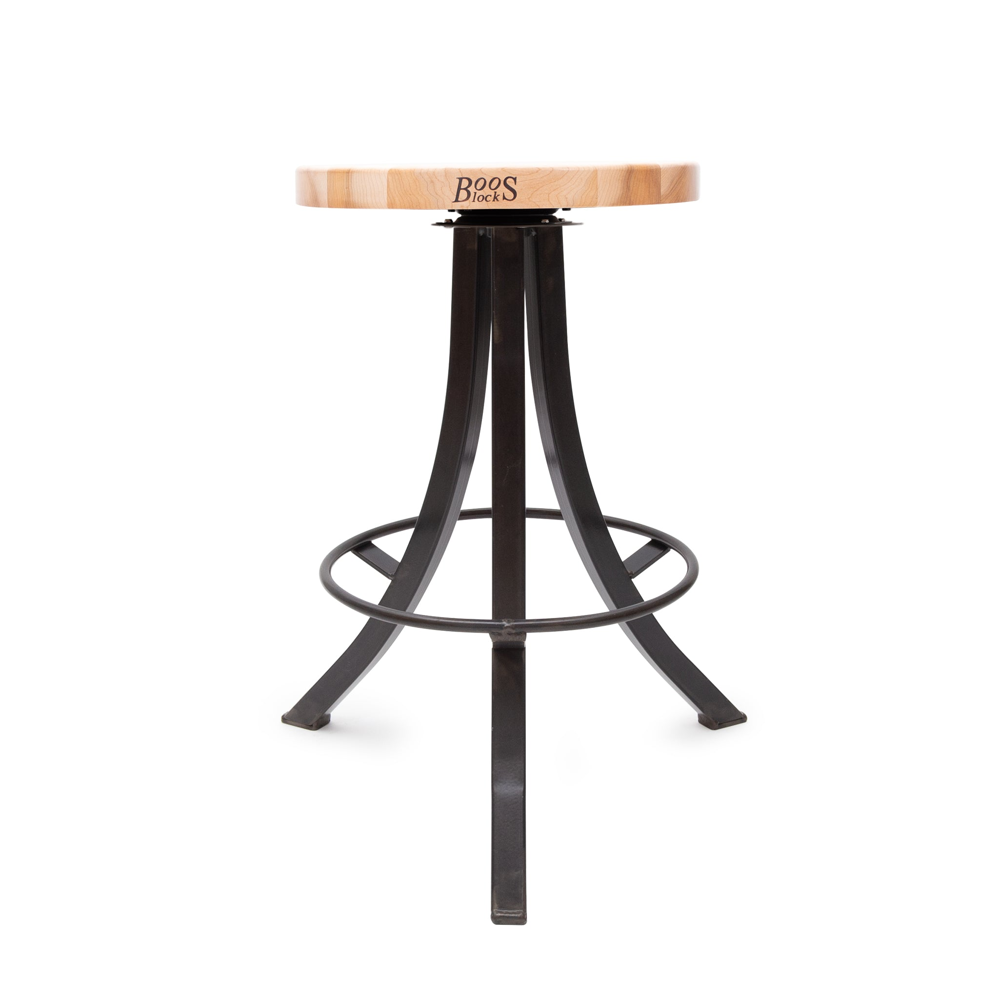 Foundry Collection Northern Hard Rock Maple Bistro Stool
